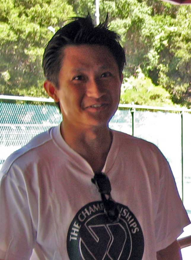 alex lin2 The event brought more than 200 gay and lesbian tennis players for four days ...